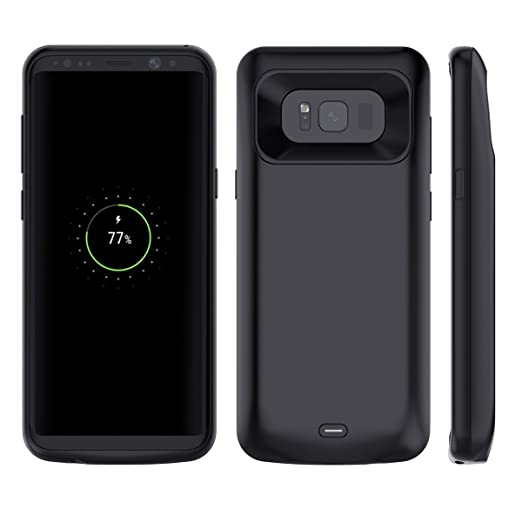3 opinioni per Custodia Batteria Galaxy S8 Plus, Moonmini 5500mAh Batteria Esterna Integrata