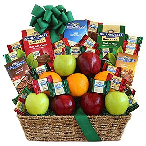 The Fruit and Cheese Lovers Basket by Gift Basket (Image #1)