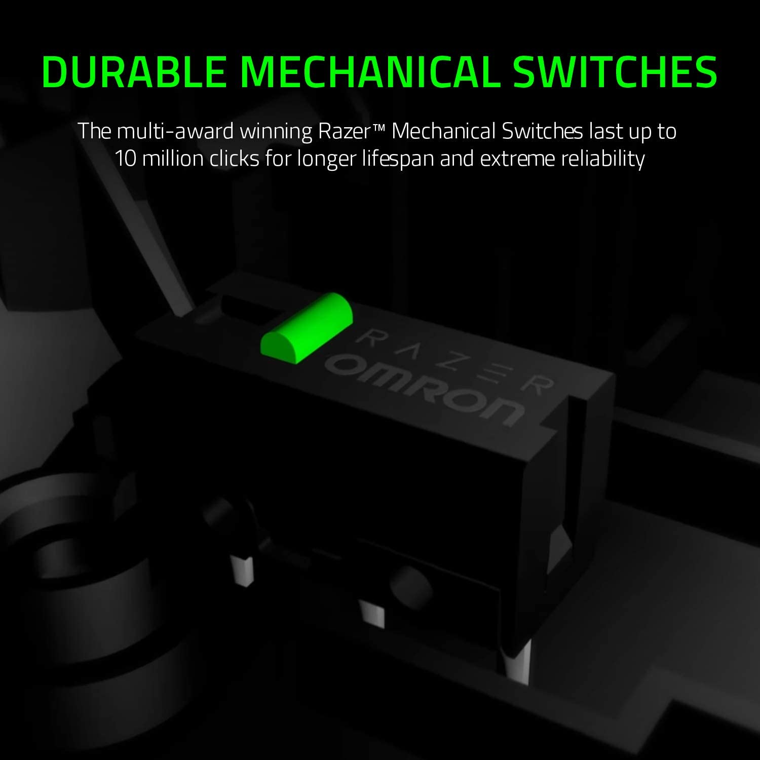 Razer DeathAdder Essential Wired Gaming Mouse DURABLE MECHANICAL SWITCHES