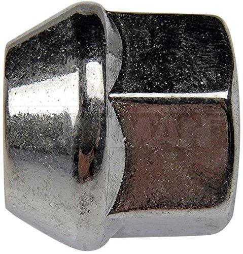 Dorman 611-154-BP Bulge Seat Wheel Nut - 1/2-20, 3/4 In. Hex, 0.833 In. Length, Pack of 200 ()