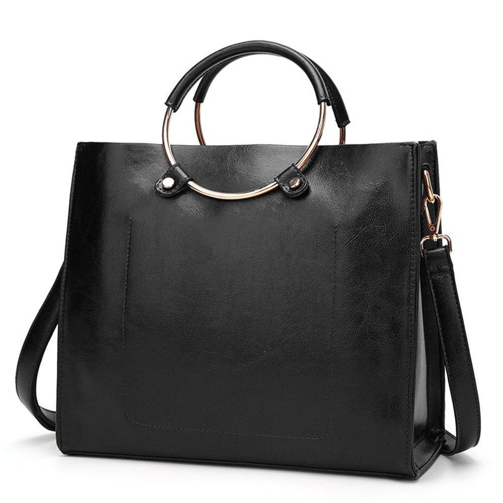 SJMMBB Trendy Bag And Handbag,Black,29X26X12Cm
