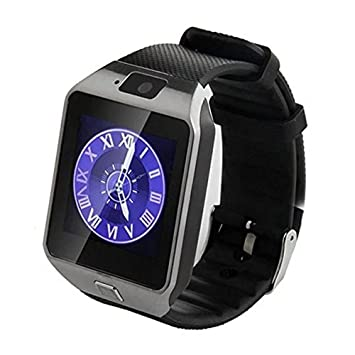 Reloj inteligente Bluetooth,SmartWatch Smart Phone Camera Pulsera Pantalla táctil Compatible con tarjeta SIM/