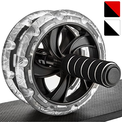 Proworks Ab Roller Exercise Wheel | Dual Abdominal Workout Machine with...
