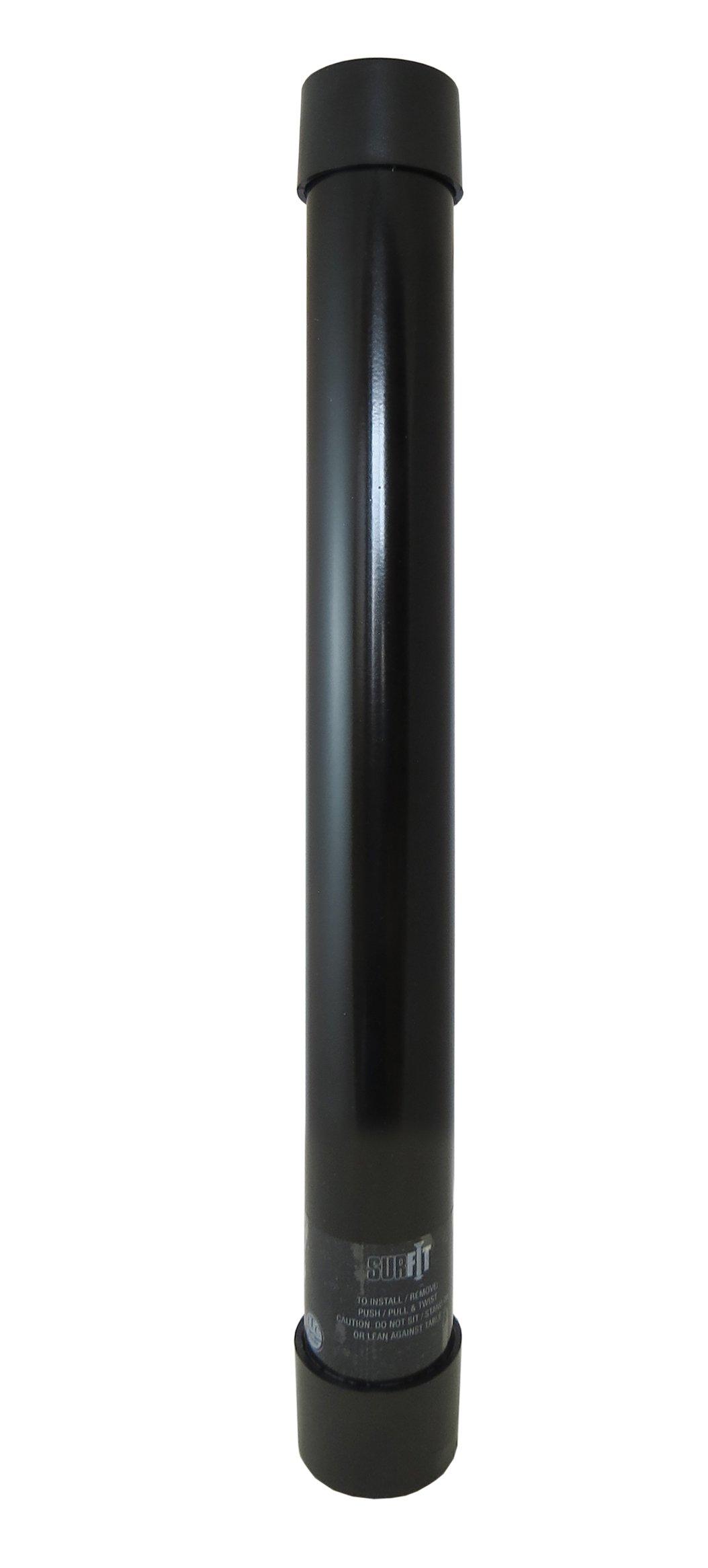 ITC (81TL29-BH-DB) SurFit Black 29'' Table Leg