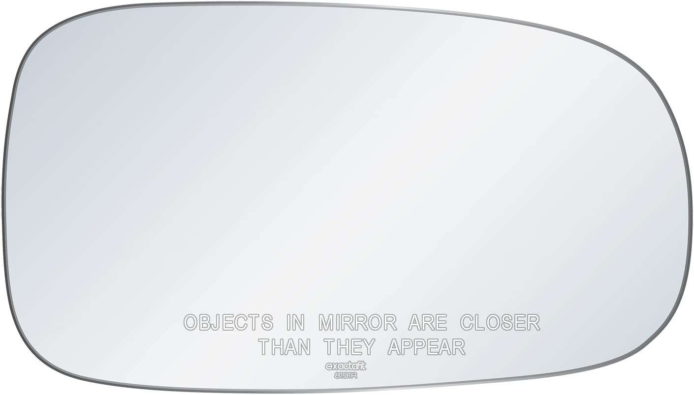 ADHESIVE NEW 03-11 SAAB 93 95 9-3 9-5 MIRROR CONVEX GLASS LEFT DRIVER SIDE LH