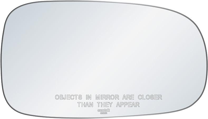 One New Genuine Door Mirror Glass Left 32101179 for Saab