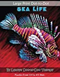 Large Print Dot-to-Dot Sea Life- Puzzles from 133