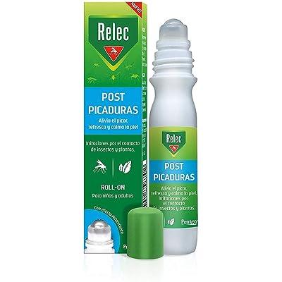 Relec Roll On Post-Picaduras de Insectos y Plantas   Alivia el picor, refresca y calma la piel   Para niños y adultos   Con efecto refrescante   15ml