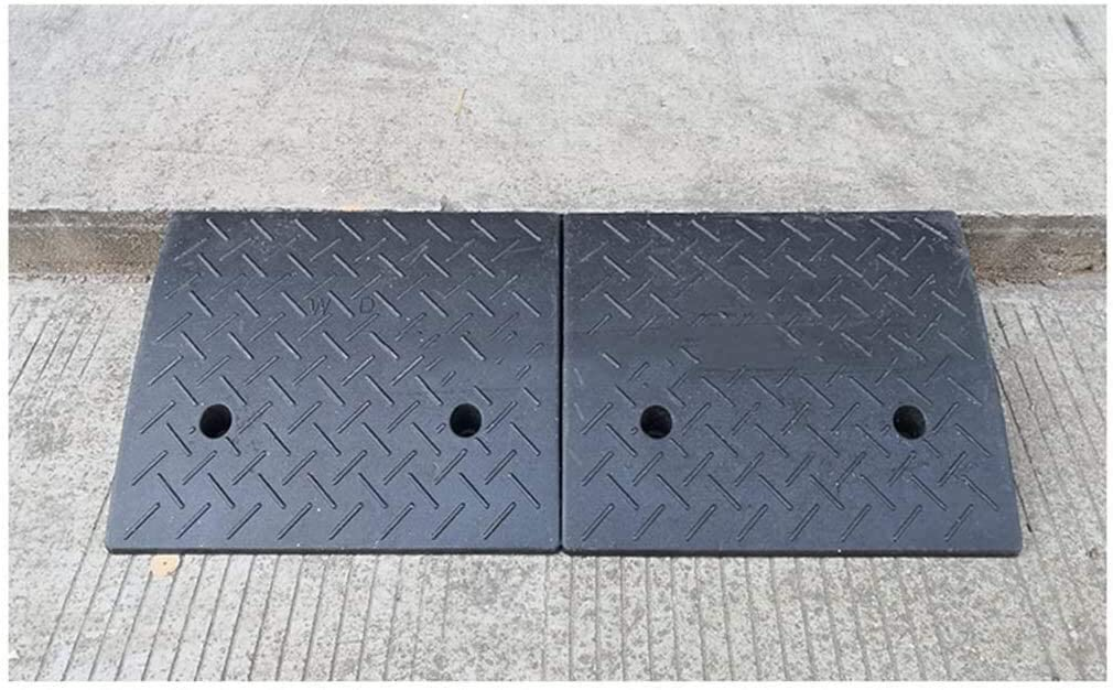 DJSMxpd Heavy Ramps Thicken Roadside Multifunction Step Ramps Car Uphill Curb Ramps The Mall School Wheelchair Ramps Better Load Bearing Capacity