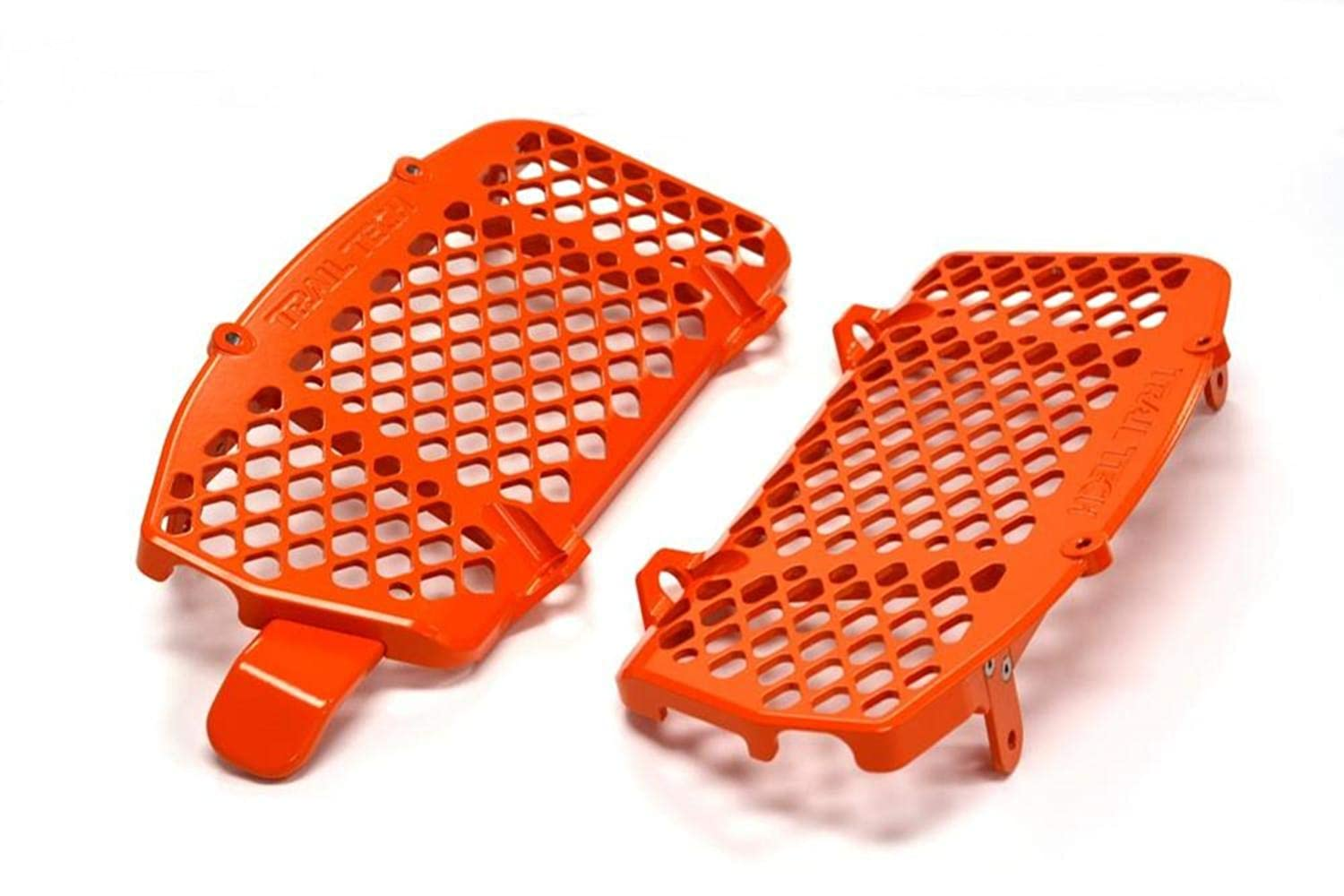 Trail Tech 0151-RB03 Orange Radiator Guard KTM Husqvarna 125 150 250 300 350 450 2016-2019
