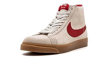 Men's Nike SB Zoom Blazer Mid QS Skateboarding Shoe
