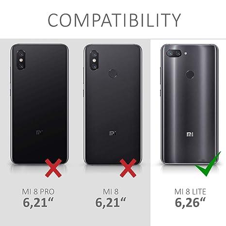 kwmobile Funda para Xiaomi Mi 8 Lite: Amazon.es: Electrónica