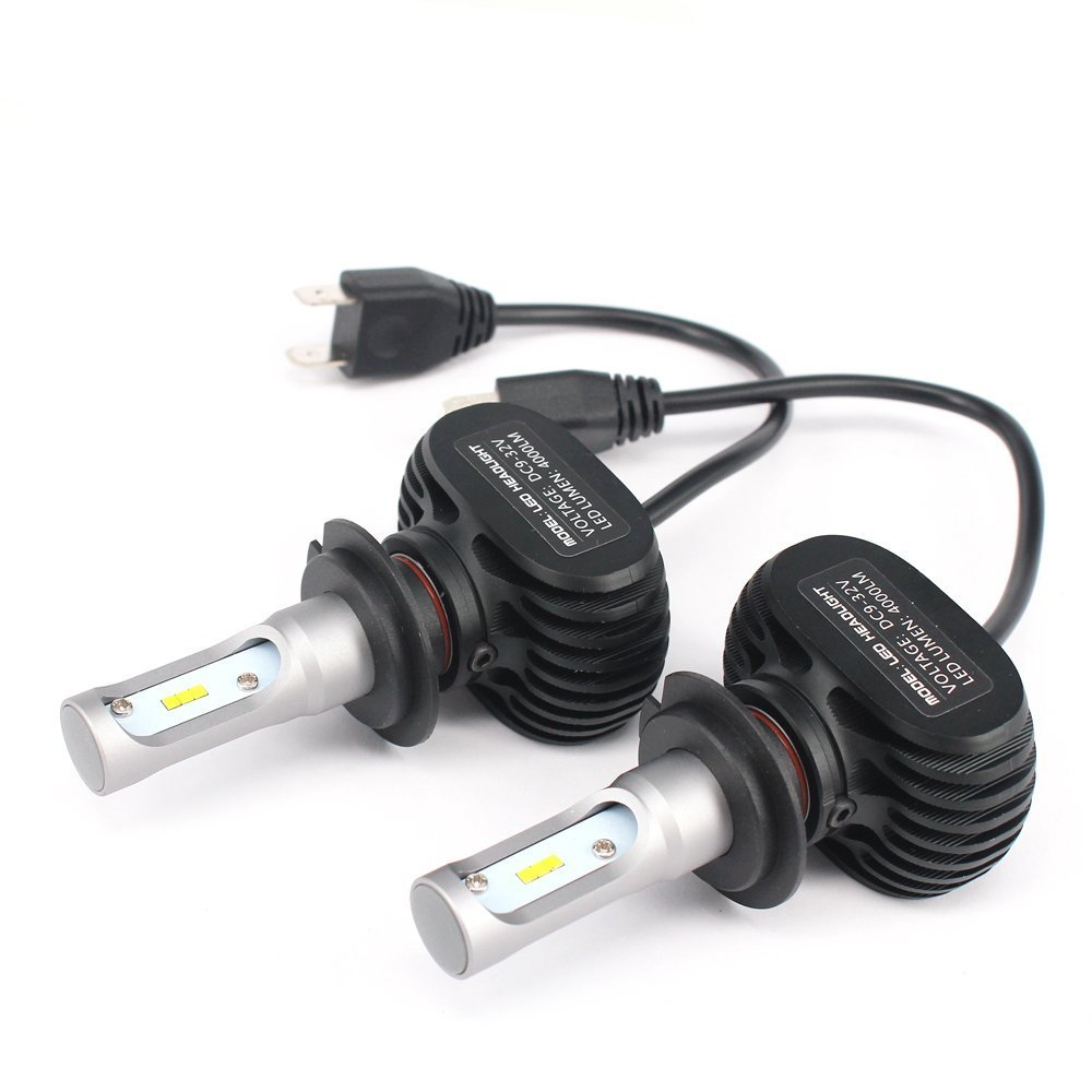 2x motorcycle led headlight h7 bulb for honda cbr 1000rr. Black Bedroom Furniture Sets. Home Design Ideas