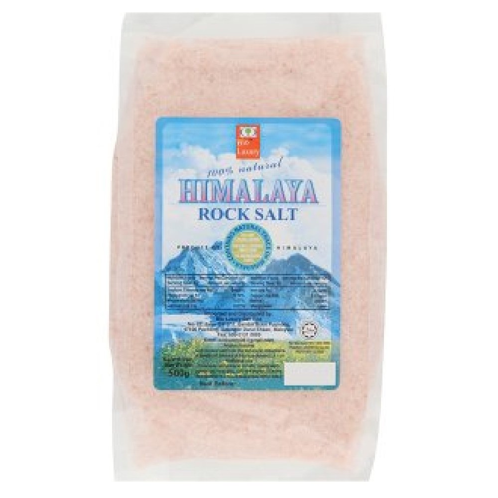 Bio Luxury Himalaya Rock Salt 500g (628MART) (12 Packs)