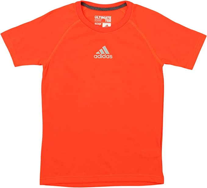 adidas Boys Climalite Short Sleeve Graphic Tee