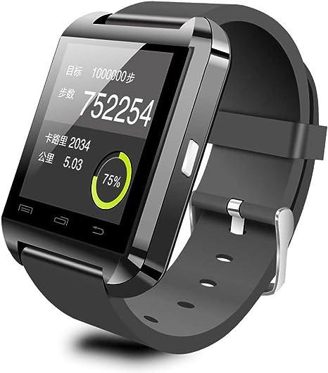 HAMSWAN U8 Smartwatch Bluetooth, 1.44 pulgadas, compatible con OS ...