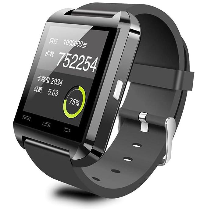 HAMSWAN U8 Smartwatch Bluetooth 1.44 pulgadas compatible para os todos los Smartphones