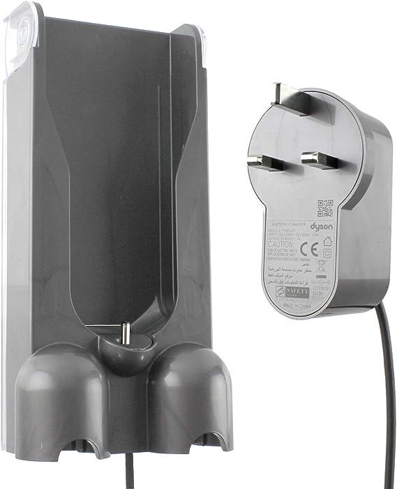Spares2go - Cargador y soporte de pared para Dyson V10 SV12 Cyclone Animal Absolute Total Clean Aspiradora: Amazon.es: Hogar