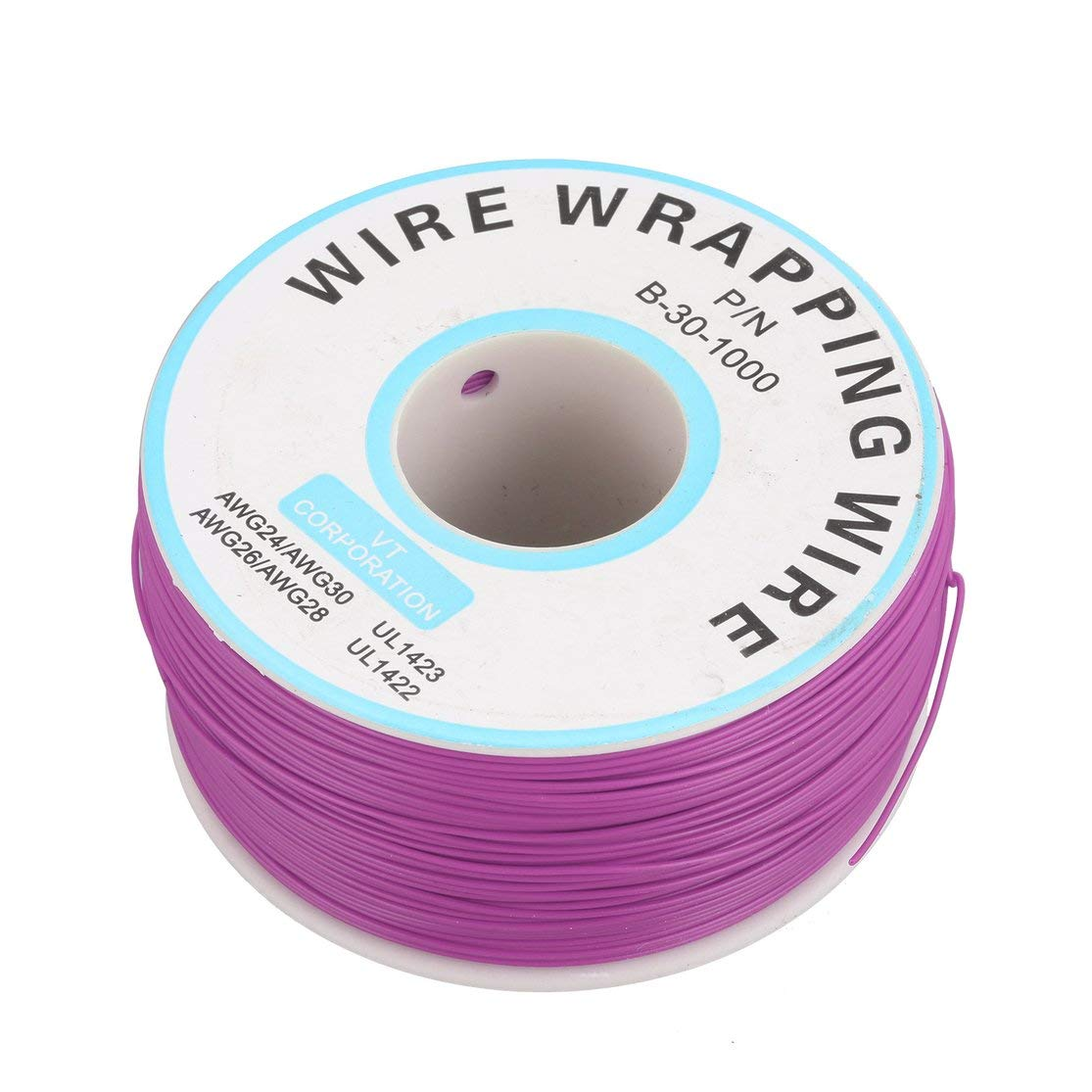 LouiseEvel215 250m 30awg Single Core Copper Wire Ok Line Circuit Flight Line Pcb Jumper Wire Electronic Welding Cable