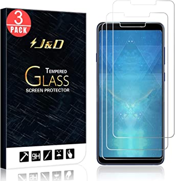 J&D Compatible para Samsung Galaxy A9 2018 Protector de Pantalla ...