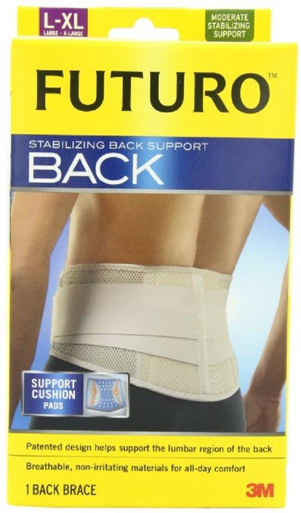 Futuro Stabilizing Back Support, Large/Extra-Large (2 Pack)