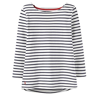 a93efdfe4 Joules Women's Harbour - Jersey Top at Amazon Women's Clothing store: