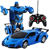 Vezaron 1:18 Transformation Car Robot Remote Control Vehicle (multiple colors)