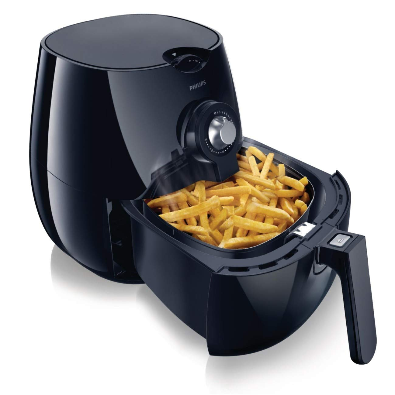Philips HD9220 29 Airfryer, 1.8lb 2.75qt, Black