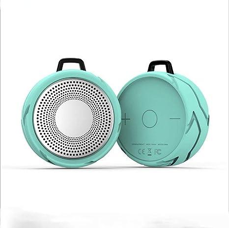 Exterior Impermeable Altavoz Bluetooth Portátil Llamada Piscina Bajo Pesado Revólver