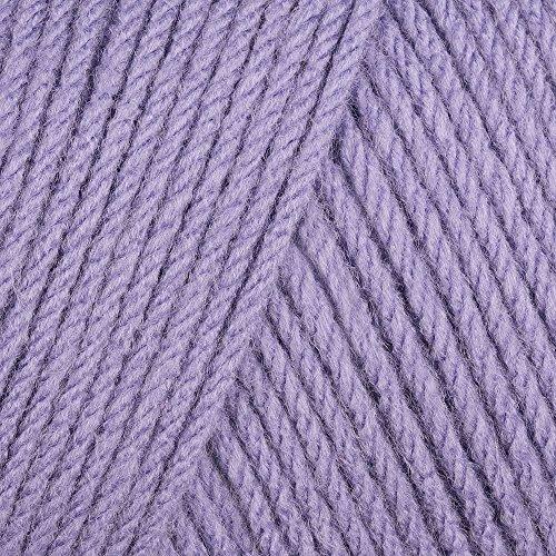 Crochet Lavender - Caron One Pound Yarn Lavender Blue