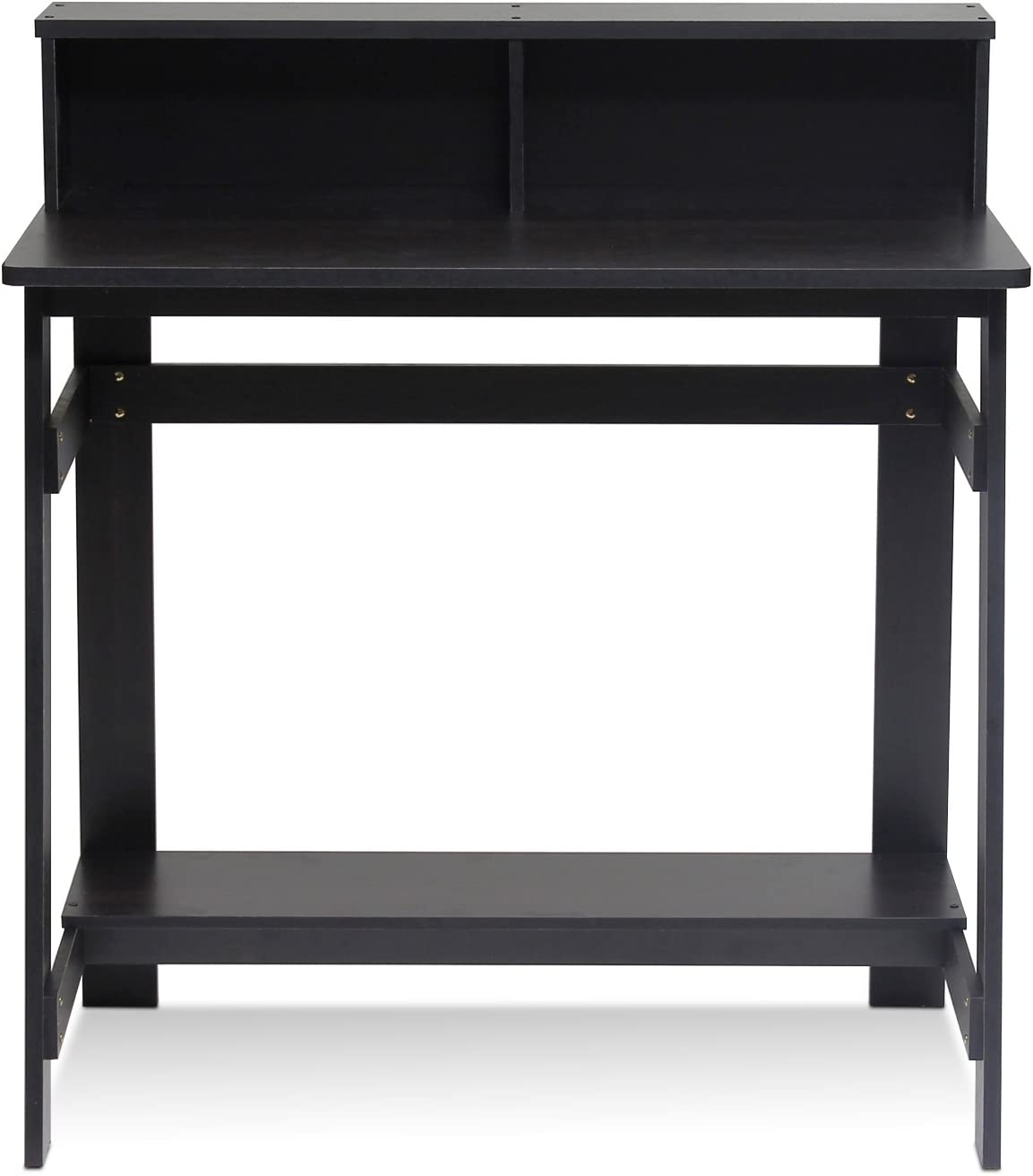 Furinno Simplistic a Frame Computer Desk, Espresso: Furniture & Decor