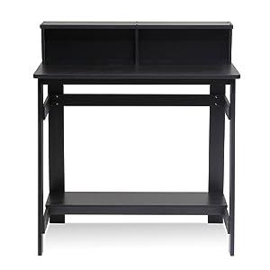 Furinno 14054EX Simplistic a Frame Computer Desk, Espresso