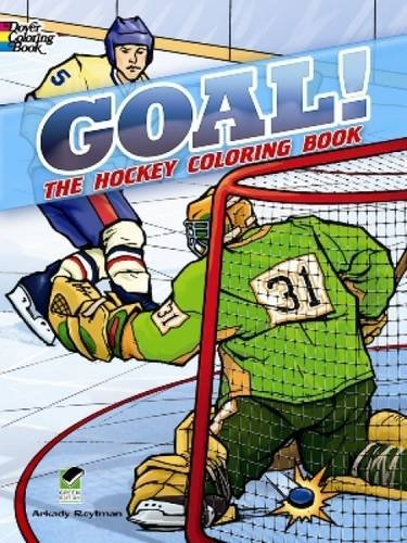 GOAL! The Hockey Coloring Book (Dover Coloring Books) ()