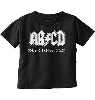 Amazon.com: threadrock Little Girls ABCD bebé T-Shirt: Clothing