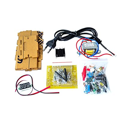 How To Test A Voltage Regulator >> Amazon Com Electronic Diy Parts Lm317 Adjustable Voltage