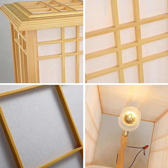 Tanno Design Japan Lampe Akina mit Teelicht nussbraun