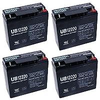 12V 22Ah SLA Battery for Westward Jump Starter + 4 Pack