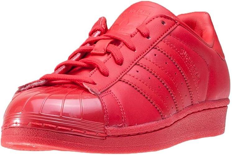 adidas superstars rouge femme