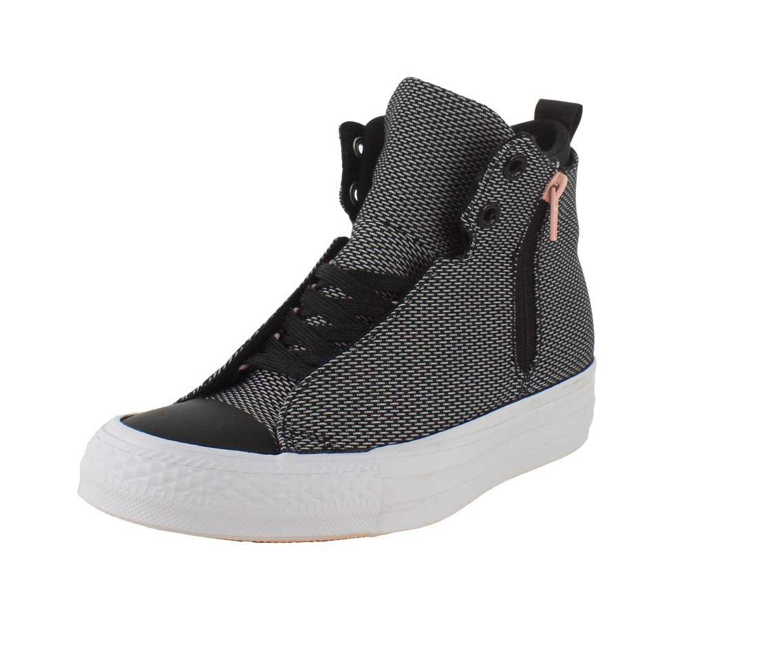 Converse Womens Chuck Taylor All Star Selene Shield Sneaker B01HQPEVTM 9.5 B(M) US|Black/Pink