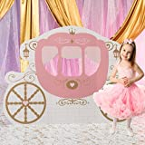 4 ft. 6 in. Pink Provincial Princess Fairytale