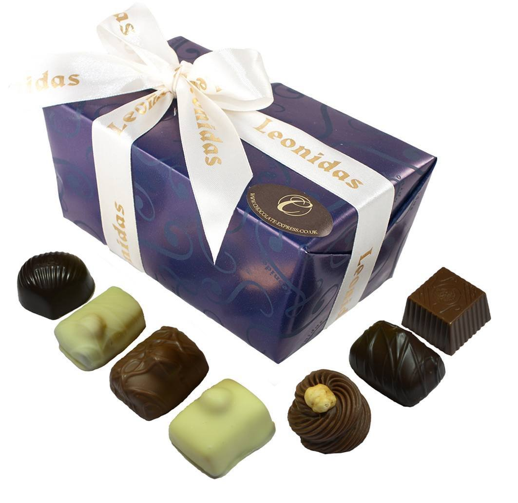 Chocolate with Nuts, 22 Leonidas Luxury Nutty Belgian Chocolates ...