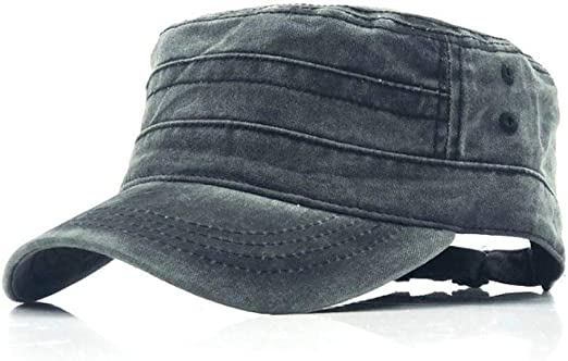 kyprx Sombreros de Sol para Mujer Sun Classic Top Plano para ...