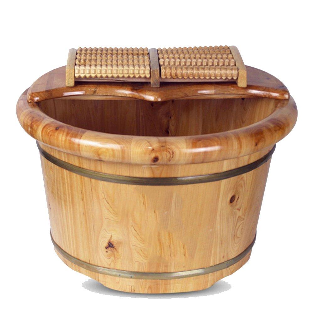 【人気急上昇】 LHA B07FQB7VRY 木製のバレルフットバスバレルフットバス流域タブ厚いバレル B07FQB7VRY, ゴウツシ:d012a0d6 --- arianechie.dominiotemporario.com
