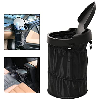 Collapsible Car Trash Can Outdoor Portable Pop Up Garbage Bin Camping Waste Rv Home Garden Trash Cans Wastebaskets Abril Pe