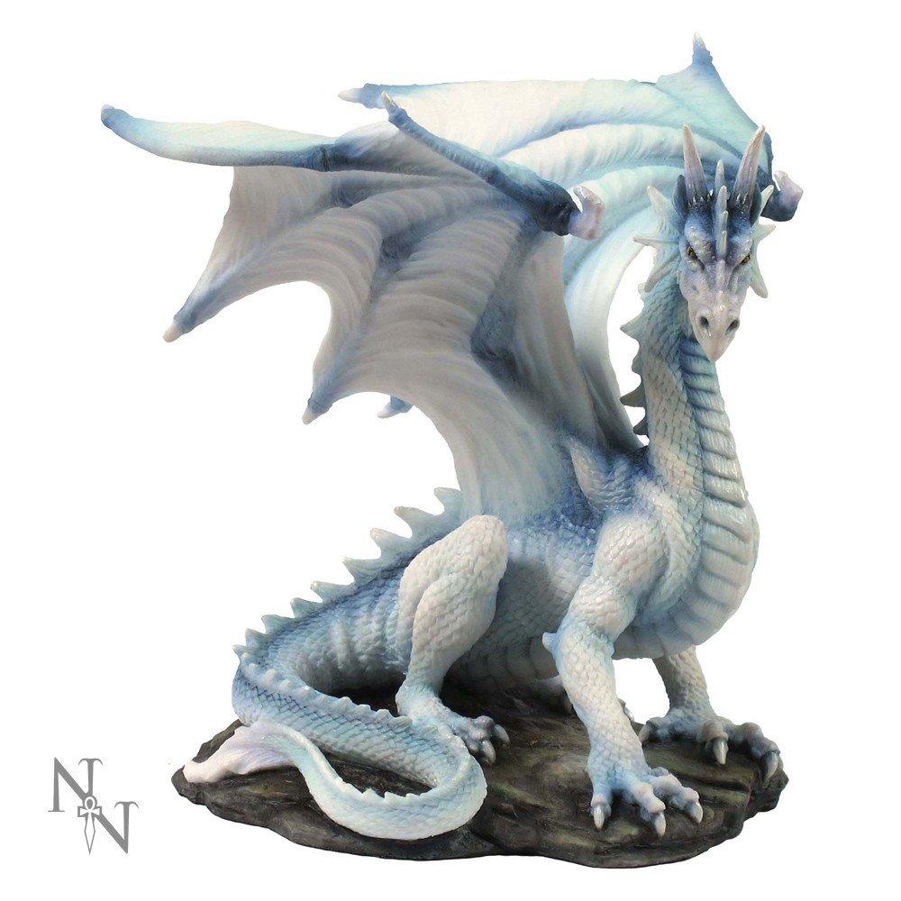 Figura de dragón blanco