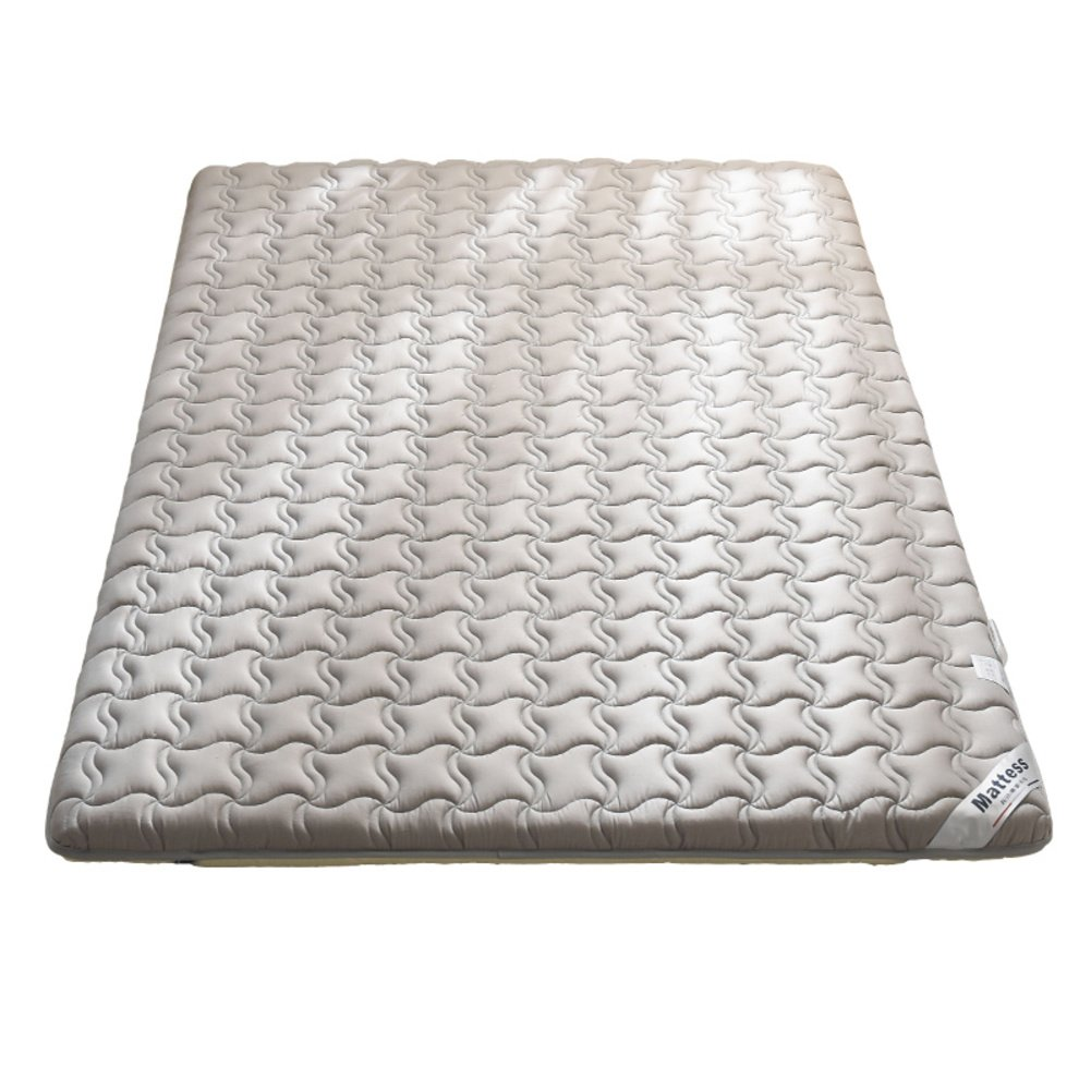 LJ&XJ アンチ バクテリア マットレス トッパー, 柔らかい 滑り止め 快適 通気性 マットマット, ダニアレルギー対策 低 保護パッド-E 150*190cm B07FGFYSTD E 150*190cm