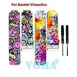 VOMA USA Garmin Vivoactive Wristband/Garmin Band/Garmin Vivoactive Band/Garmin Wristband/Garmin Bracelet/Garmin replacement band(206)