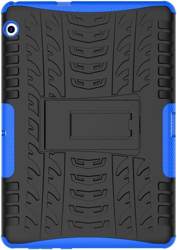 Skytar Huawei Mediapad T3 10 Hülle Hybrid Armor Schutz Dual Layer Aus Tpu Silikon Hard Pc Hülle Für Huawei Mediapad T3 10 Mit 9 6 Zoll Tablet Cover Mit Arm Blau Elektronik