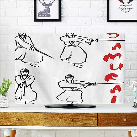 Auraisehome - Figuras de un samurái con Katana en Fondo Blanco ...