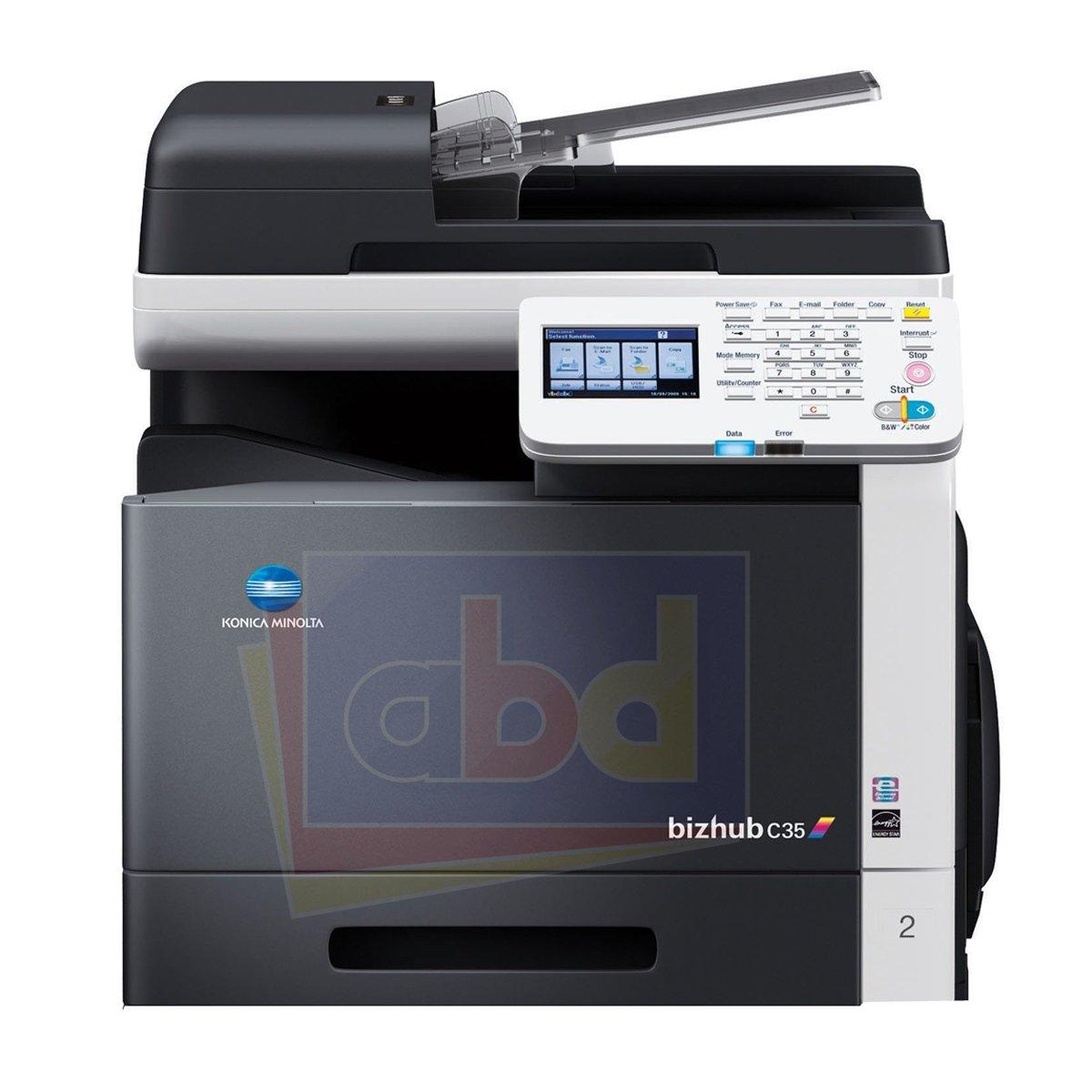 amazon com konica minolta bizhub c35 color laser multifunction rh amazon com bizhub c35 user manual bizhub c35 user manual